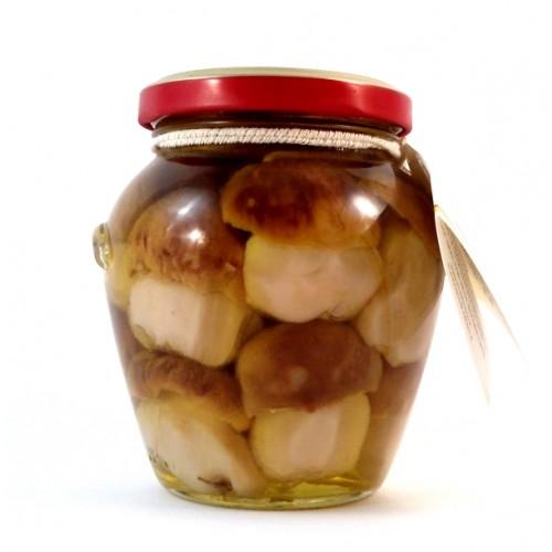 Funghi Porcini Testa Nera in olio di oliva