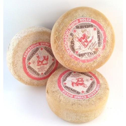 Formaggio ovino dolce Sepeddì Forma Intera Kg.1,800 Ca.