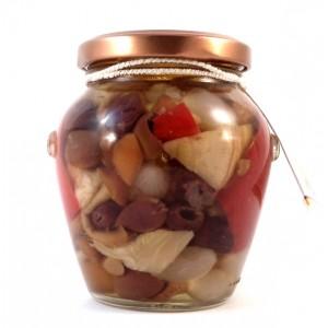 Antipasto Ricco in olio d'oliva
